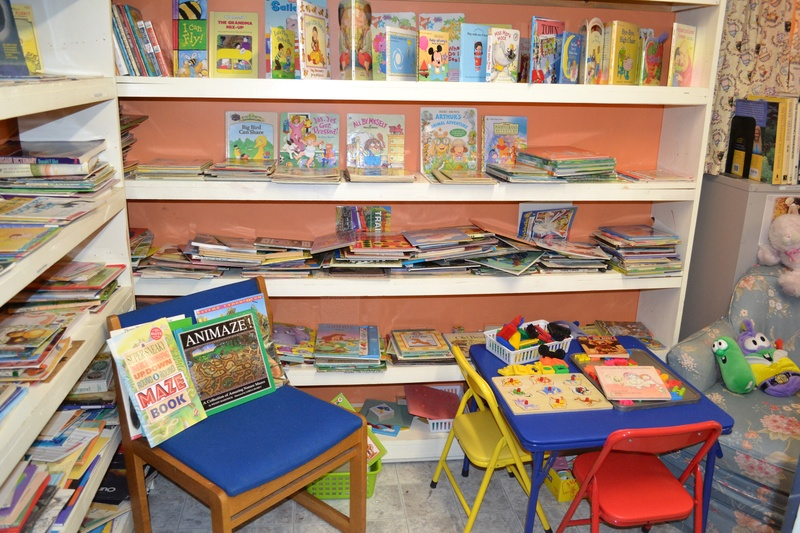 Just one part of the kids' section